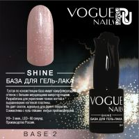 Shine база для гель-лака Vogue Nails №2, 10ml